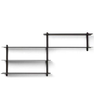 Gejst Gejst NIVO B wall shelf black