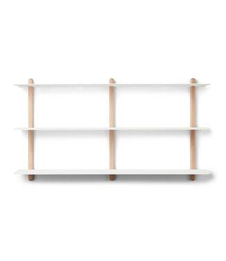 Gejst Gejst NIVO D Large wall shelf Light Oak white