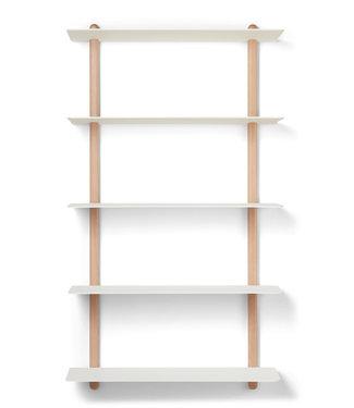Gejst Gejst NIVO E Large wall shelf light oak white