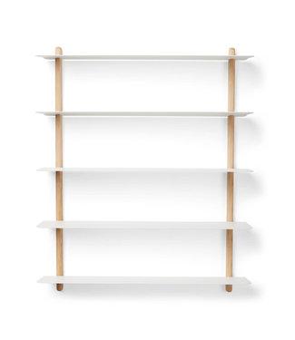 Gejst Gejst NIVO E wall shelf Light oak white