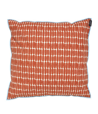 Marimekko Marimekko Alku cushion cover 40x40cm orange brown / light blue