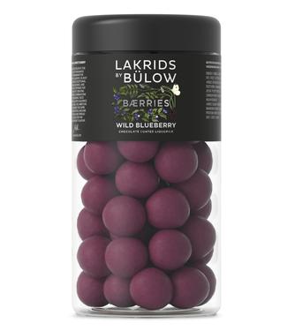 Lakrids by Bülow LAKRIDS BY BÜLOW - Lakrids Wild Blueberry - Regular 295g - Chocolate coated liquorice