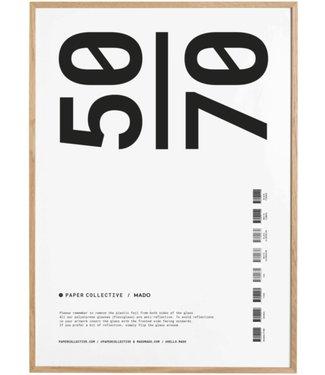 Paper Collective Paper Collective  50 x 70 cm Massief Eiken Lijst