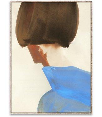 Paper Collective Paper Collective Art Print 50x70cm The Blue Cape