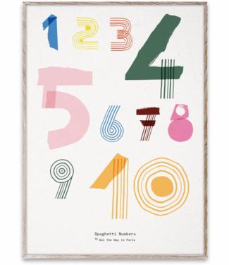 Paper Collective MADO 123 Spaghetti poster 50 x 70 cm