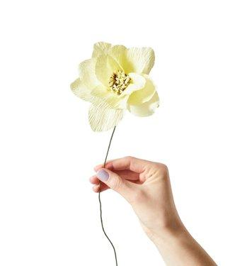 Studio About Studio About Papieren bloem Dahlia Geel