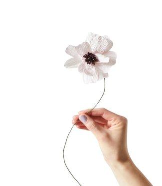 Studio About Studio About Papieren bloem Madelief paars