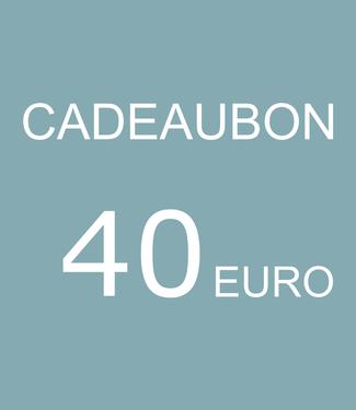 Blikfang CADEAUBON - 40 EURO