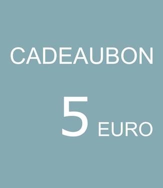 Blikfang CADEAUBON - 5 EURO