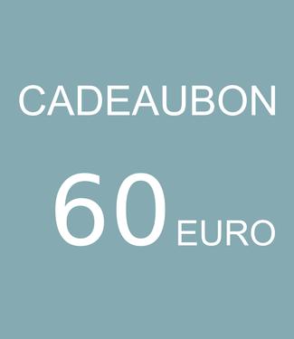 Blikfang GIFT VOUCHERS – 60 EURO