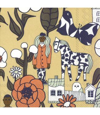 Marimekko Marimekko Marikylä Paper Napkin 33x33cm