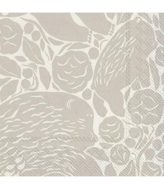 Marimekko Marimekko Karhuemo crème Papieren Servetten 33x33cm