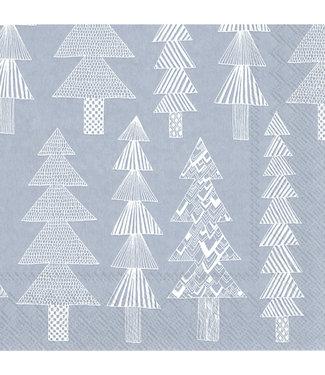 Marimekko Marimekko Kuusikossa Paper Napkin 33x33cm light blue