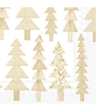 Marimekko Marimekko Kuusikossa Paper Napkin 33x33cm Gold
