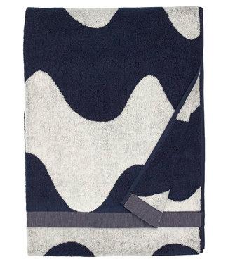 Marimekko Marimekko Lokki Handdoek 70x140cm donkerblauw