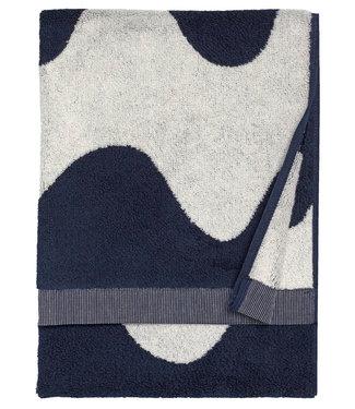 Marimekko Marimekko Lokki Handdoek 50x70cm donkerblauw