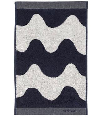 Marimekko Marimekko Lokki Towel 30x50cm dark blue