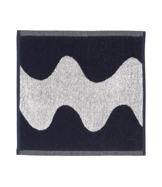 Marimekko Marimekko Lokki Towel 30x30cm dark blue