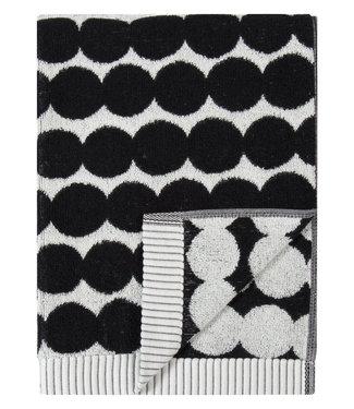 Marimekko Marimekko Räsymatto Handdoek 50x70cm zwart