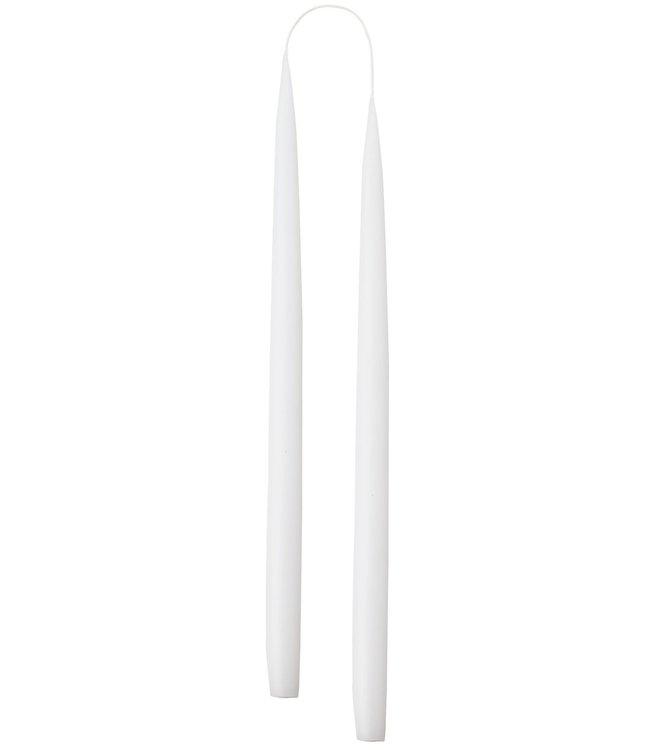 KunstIndustrien KunstIndustrien set of 2 Handmade White H35cm Candles