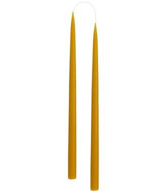 KunstIndustrien KunstIndustrien set v 2 Handgemaakt Honing H35cm kaarsen