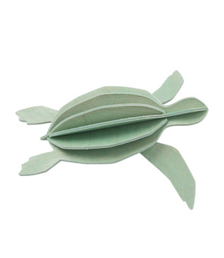 LOVI Lovi Turtle mint  - 2 sizes - Birch plywood 3D-animal DIY package