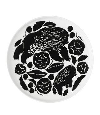 Marimekko Marimekko Karhuemo plate 20cm darkgreen