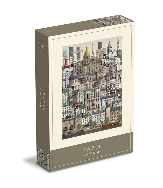 Martin Schwartz Martin Schwartz Paris jigsaw puzzle 1000 pieces – 50x70cm