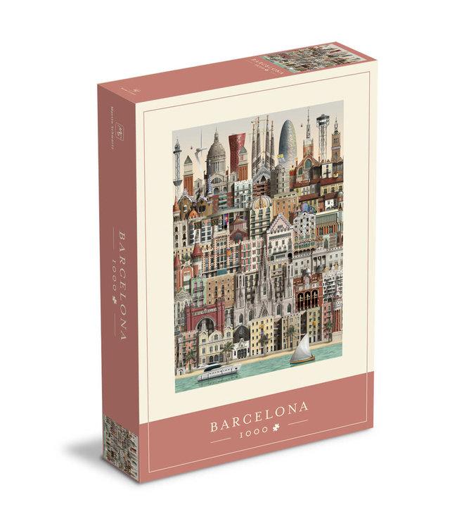 Martin Schwartz Martin Schwartz Barcelona jigsaw puzzle 1000 pieces – 50x70cm