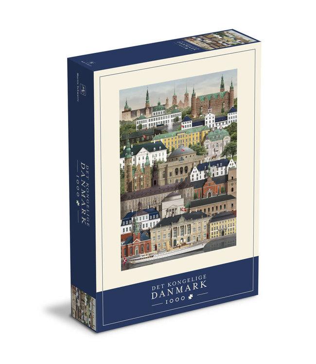 Martin Schwartz Martin Schwartz Royal Denmark jigsaw puzzle 1000 pieces – 50x70cm