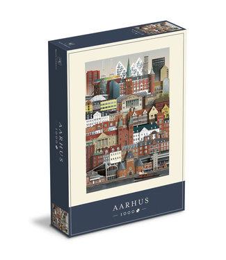 Martin Schwartz Martin Schwartz Aarhus puzzel 1000 stukjes – 50x70cm