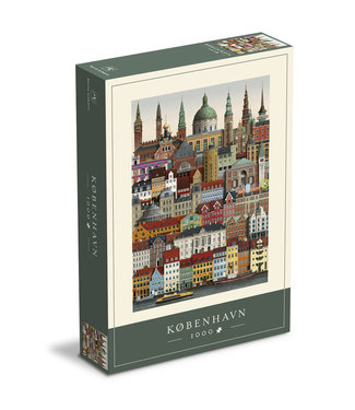 Martin Schwartz Martin Schwartz Kopenhagen puzzel 1000 stukjes – 50x70cm
