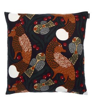 Marimekko Marimekko Ketunmarja dark blue dark green cushion cover 50x50cm