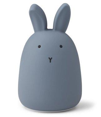 Liewood Liewood Night Light Rabbit Blue Rechargeable