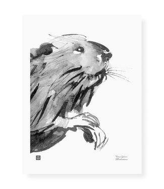 Teemu Järvi Teemu Järvi Poster Bever 30 x 40 cm