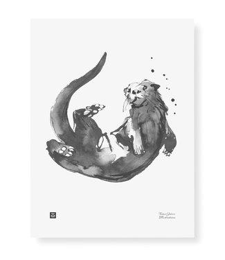 Teemu Järvi Teemu Järvi Poster Otter 30 x 40 cm