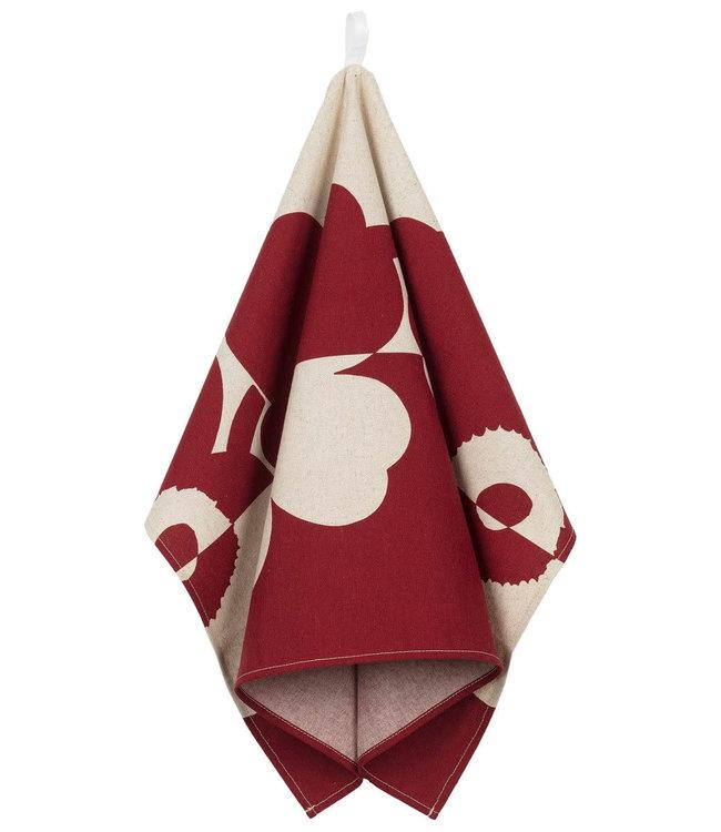 Marimekko Marimekko Suur Unikko kitchen towel 47x70 cm red