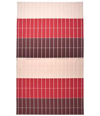 Marimekko Marimekko Tiiliskivi tafellaken 156x280 cm burgundy rood roze