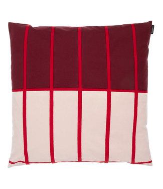 Marimekko Marimekko Tiiliskivi cushion cover 50x50 cm dark red red