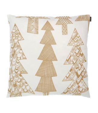 Marimekko Marimekko Kuusikossa Gold cushion cover 50x50 cm