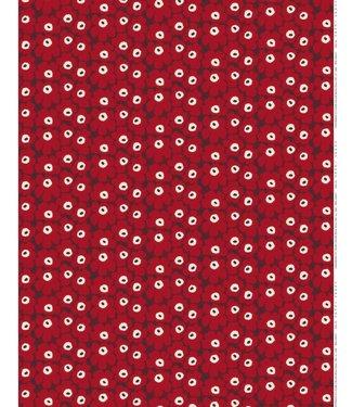 Marimekko Marimekko Mini-Unikko  fabric red
