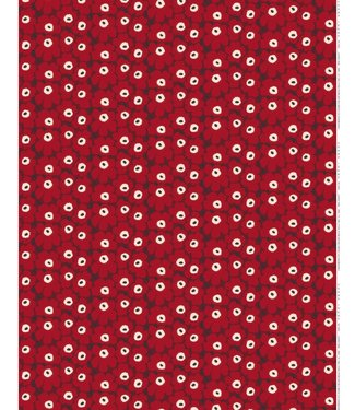 Marimekko Marimekko Mini-Unikko  stof rood