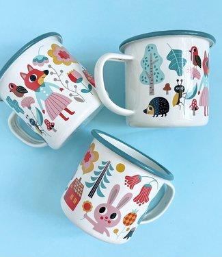 OMM Design OMM design Emaillen mug Forest