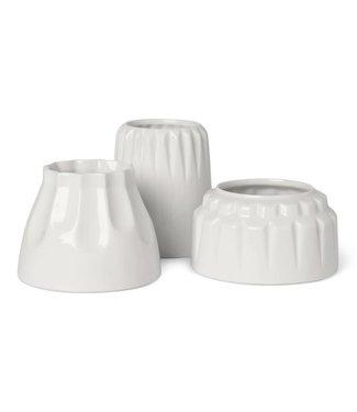 Dottir Dottir Alba 1 tealightholder set of 3