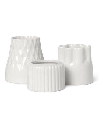 Dottir Dottir Alba 2 tealightholder set of 3