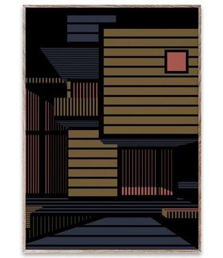 Paper Collective Paper Collective Art Print 50x70cm Empty Spaces 01