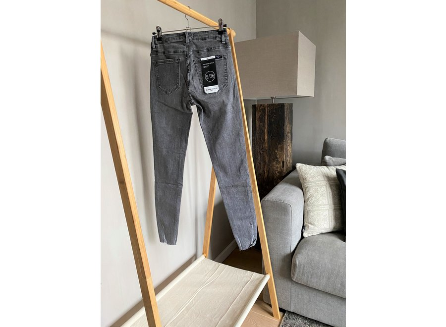 Dark Gray Hailey Skinny Jeans