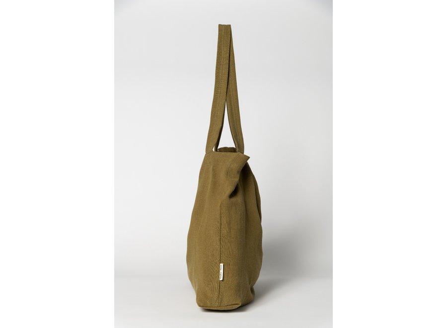 Botanische mom-bag