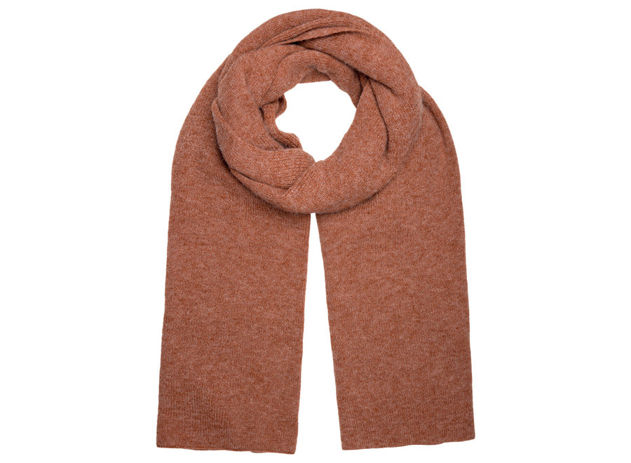 Knitted Brown scarf