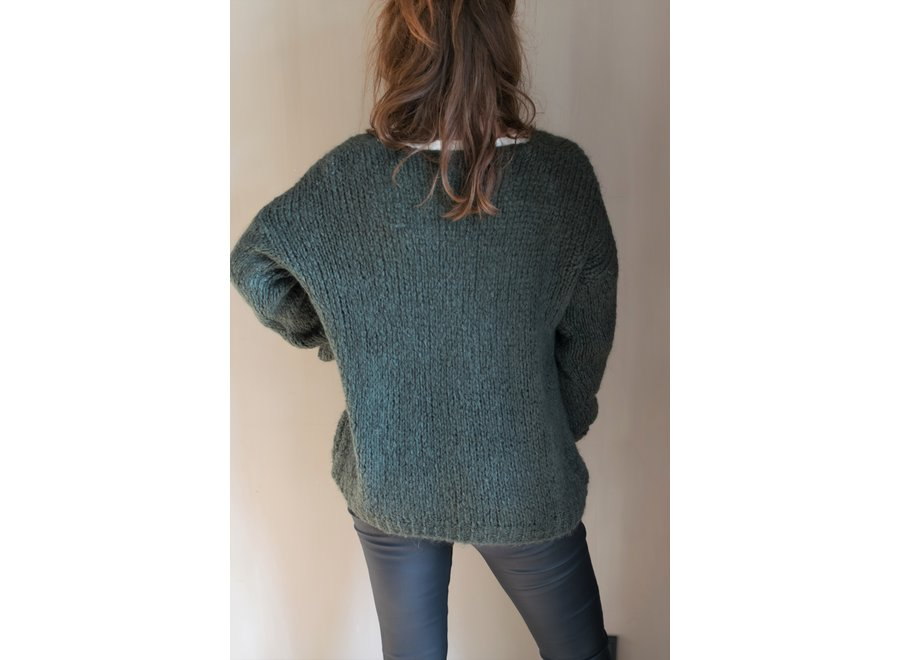 Ashley Knit Groen